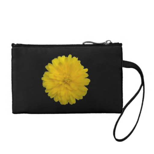 Yellow Marigold Bagettes Bag Coin Purse