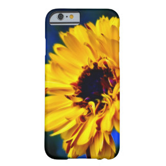 Yellow Marigold flower Barely There iPhone 6 Case
