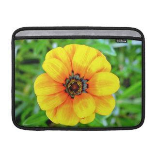 Yellow Marigold flower MacBook Sleeves
