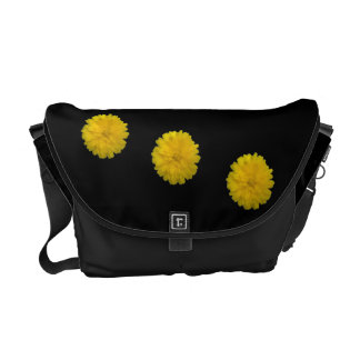 Yellow Marigold Messenger Bag