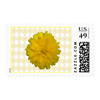 Yellow Marigold US Postage Stamp