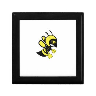 yellow mean bee gift box