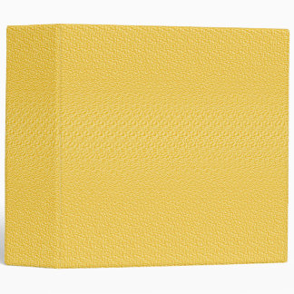 Yellow Medium Textured 2 inch Binder