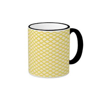 Yellow Mesh Mug