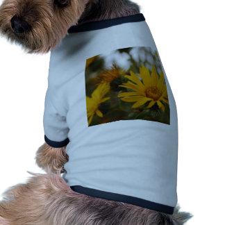 Yellow Milkweed Doggie Tee Shirt