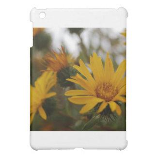 Yellow Milkweed iPad Mini Covers