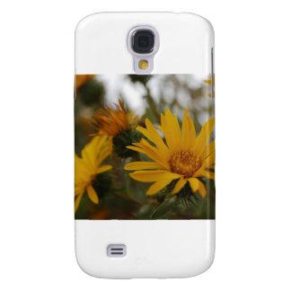 Yellow Milkweed Samsung Galaxy S4 Covers