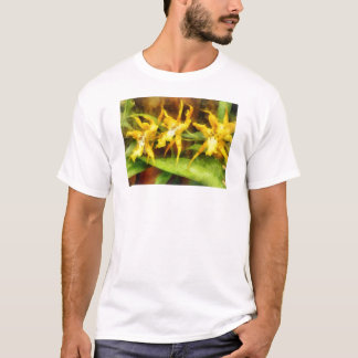 Yellow Miltassia Orchids T-Shirt