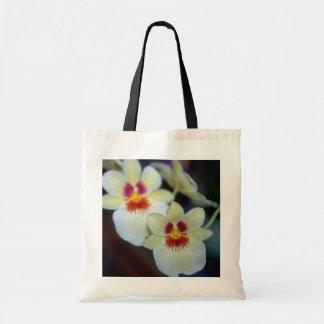 Yellow Miltoniopsis flowers Budget Tote Bag