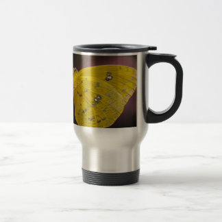 Yellow Mirage 15 Oz Stainless Steel Travel Mug