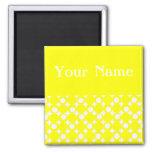 Yellow Mod Ball Design @ Emporio Moffa Fridge Magnets