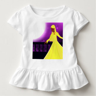 Yellow Modest Princess Ruffle Tee