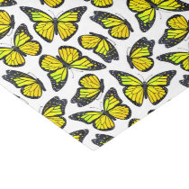 Yellow Monarch Butterfly Pattern Tissue Paper