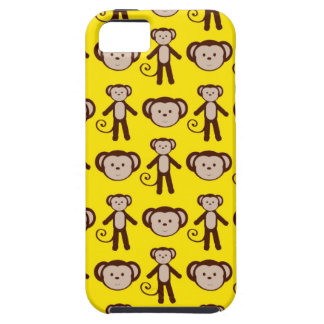 Yellow Monkey iPhone 5 Cover / Case