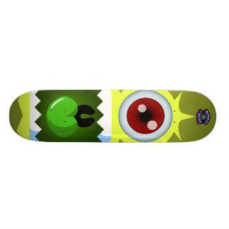 Yellow Monster Alien - Planet Cazmo Skate Decks