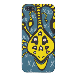 yellow monster iphone case cover for iPhone 5/5S