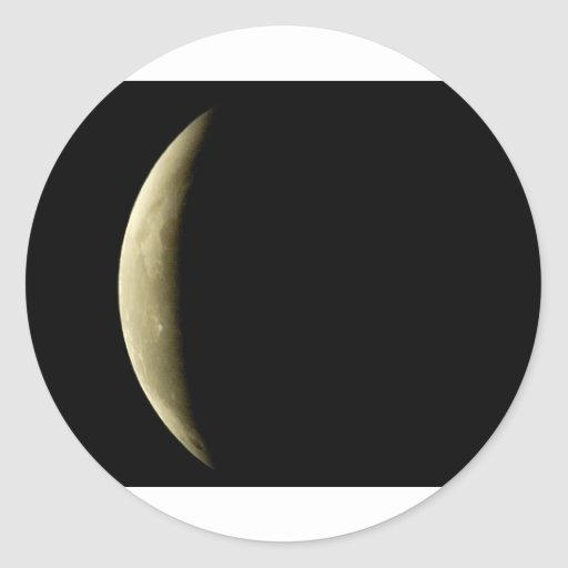 yellow-moon-eclipse sticker