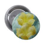 Yellow Moon flower Pins