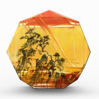 Yellow Mountain of Huang Shan Acrylic Award
