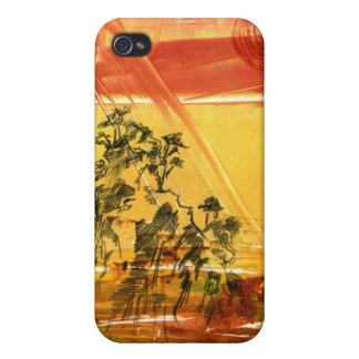 Yellow Mountain of Huang Shan iPhone Case Case For iPhone 4