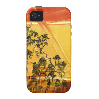 Yellow Mountain of Huang Shan Vibe iPhone 4 Cover