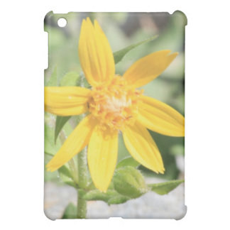 Yellow Mountain Wildflower iPad Mini Cases