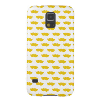 Yellow Moustaches Galaxy S5 Cases
