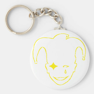 Yellow MTJ Keychain