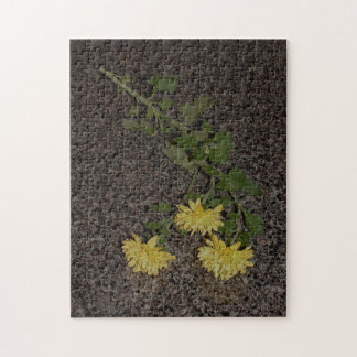 Yellow Mums Clarity Puzzle