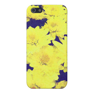 YELLOW MUMS COVER FOR iPhone SE/5/5s