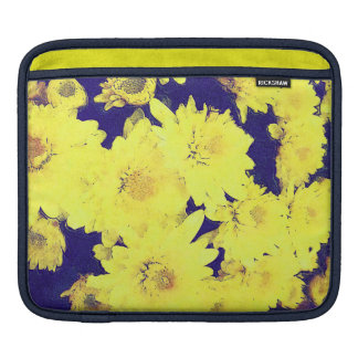 YELLOW MUMS iPad Sleeve