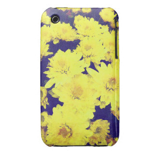 YELLOW MUMS iPhone 3G/3GS Case-Mate Case