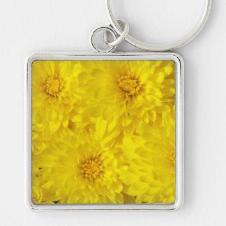 Yellow Mums Keychain