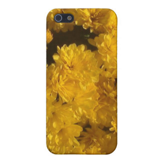 Yellow Mums of Autumn Cover For iPhone SE/5/5s
