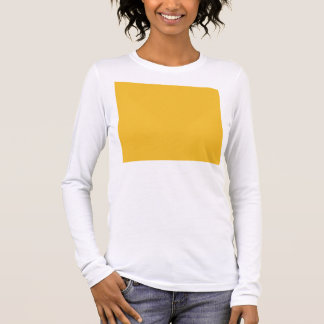 Yellow mustard long sleeve T-Shirt