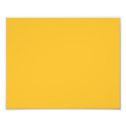 Yellow mustard photo print