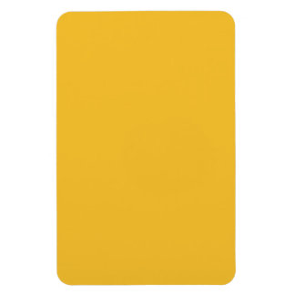 Yellow mustard rectangular photo magnet