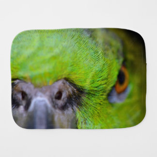 Yellow-Naped Amazon Parrot by Shirley Taylor Burp Cloth