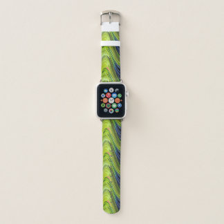 Yellow-Naped Amazon Parrot Feathers by STaylor Apple Watch Band