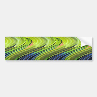 Yellow-Naped Amazon Parrot Feathers by STaylor Bumper Sticker