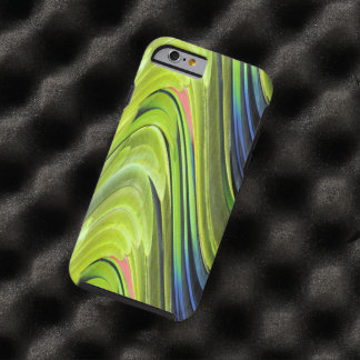 Yellow-Naped Amazon Parrot Feathers by STaylor Tough iPhone 6 Case