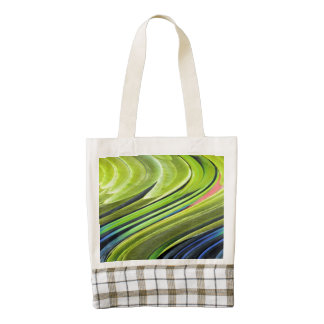 Yellow-Naped Amazon Parrot Feathers by STaylor Zazzle HEART Tote Bag