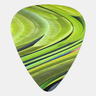 Yellow-Naped Amazon Parrot Feathers Guitar Pick