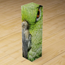 Yellow-Naped Amazon Parrot Wine Gift Box