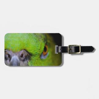 Yellow-Naped Parrot Bag Tag