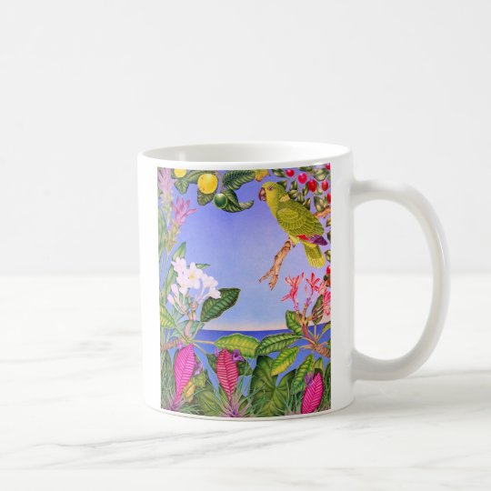 Yellow-napped Amazon Coffee Mug
