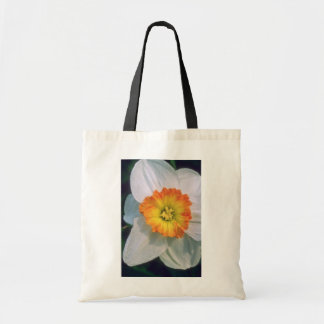 Yellow Narcissus flowers Budget Tote Bag
