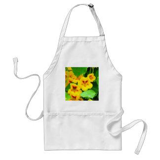 Yellow Nasturtiums Adult Apron