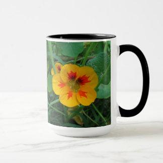 Yellow Nasturtiums Flower Mug