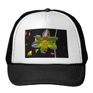 Yellow Neon Daffodil Trucker Hat
